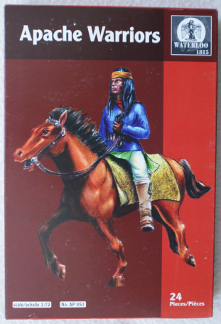 Waterloo 1815 1/72 WATAP051 Apache Warriors (Indian Wars)